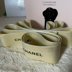 Chanel Gift Wrapping Ribbon 3X68 inches